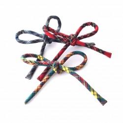 Lazo escocés cordón- 3 estampados